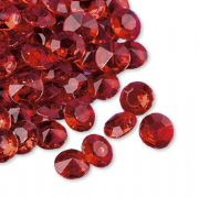 Premium Wedding table decoration 12mm Red Diamantes